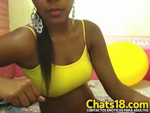 Lindo gal jogando em webcam - jizzycam